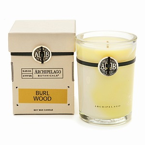 gifted soy wax fragranced candle with containers