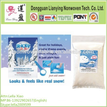 100% de fibra de poliéster Loft Batting para la falsa nieve Decor