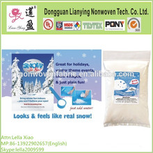 100% Polyester Fiber Loft Batting for Fake Snow Decor