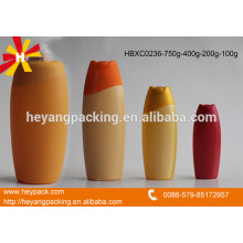 Different capacity of HDPE Hair shampoo bottle