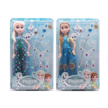 Poupée congelée de jouet de mode en plastique de 18 pouces (H9538157)