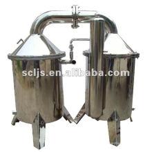 Máquina de destilação de água elétrica de aço inoxidável 100L