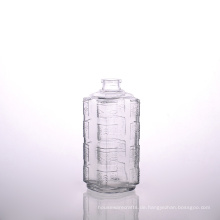 500ml quadratische Prägung Wisky Flasche