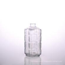 500ml Square Embossment Wisky Bottle