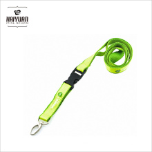 Cheap Custom Double Layer Satin Lanyard with Printed Logo