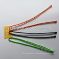 Laço de cabo de engrenagem de silicone de promoção laço de torção de borracha reutilizável