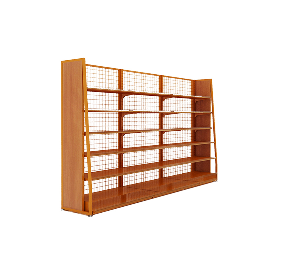 Supermarket Single-Sided Shelves