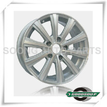 Silver High Quality Alloy Aluminum Car Wheel Alloy Car Rims