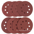 Sanding Disc 8-Hole hook and loop disc