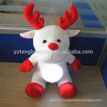Custom Christmas Reindeer shaped light up jouet jouet léger