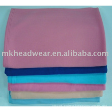 Fire retardant airline fleece blankets
