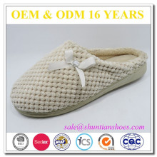 fashion cup sole waffle warm indoor woman slipper