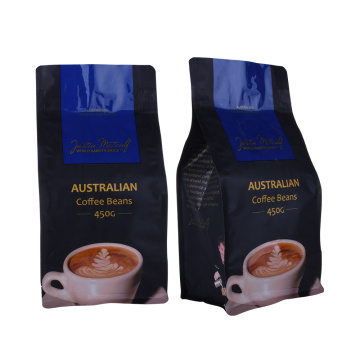 Coffee Bean Packaging Bags Estuche de café mate de 12oz