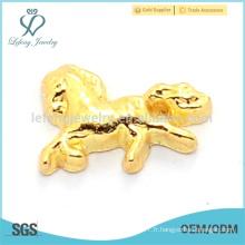 Collants de perles de cheval en gros, charmes de zodiaque chinois de jade