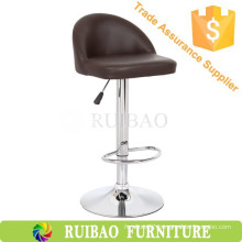 Leather Material and Bar Furniture Type Swivel Modern Saddle Seat Bar Stools