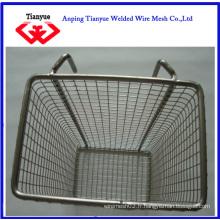 Panier de panier en métal carré (TYB-0064)