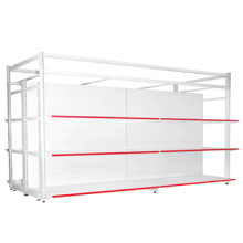 popular supermarket shelving suppliers/supermarket metal display shelves