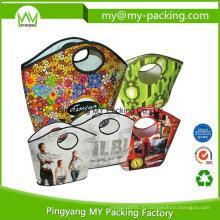 Всемирно известный сплетенные PP хозяйственная сумка с ламинацией