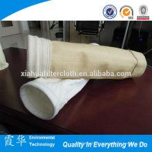 Bolsas de filtro de polvo de fibra de vidrio recubiertas ptfe de alta calidad