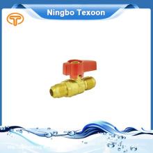 Válvula de gas de latón de alta calidad de China por mayor