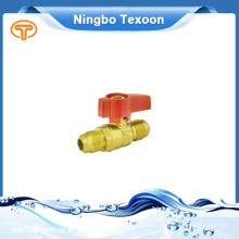 Китай Оптовая высокого качества латунь газовый клапан