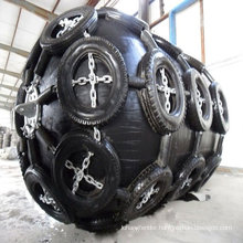 Chain and Tyres Net of Yokohama Type rubber fenders