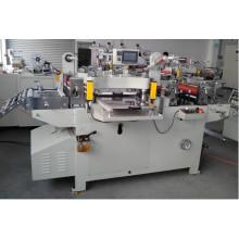 Uma máquina cortando automática principal com carimbo quente
