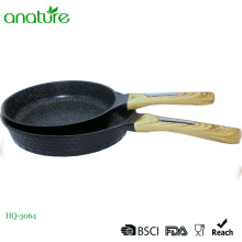 Diamond Design Kitchen Utensil Die Cast Fry Pan