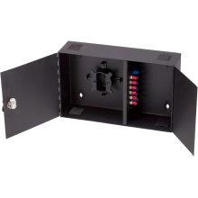 Настенный оптоволоконный корпус с монтажным модулем
