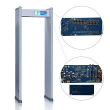 Aéroports / Ports maritimes Détecteur de métaux portable de haute précision