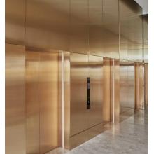 Space Saving Green and Energy Saving Elevator