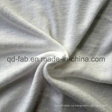 Camiseta de rayón de lino Jersey que hace punto (QF13-0280)