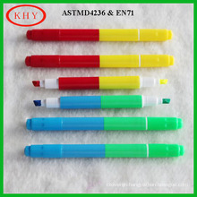 Mini size dual tips LED board fluorescent marker