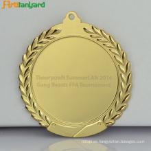 Medalla de metal promocional con logotipo de impresión