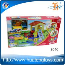 Nouvelle construction de mode éducative mega house blocks toy