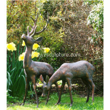 Garden Decorative Life Size Deer Sculpture For Sale