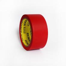 Vermelho, fácil de rasgar PVC e fita de vinil em relevo pvc fita de embalagem 45mm * 22m * 0.15mm fita de embalagem de PVC