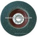 Alta qualidade S / C flap disco de polimento para aço inoxidável