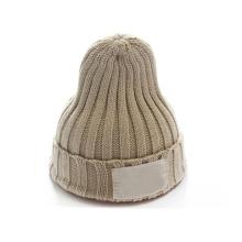 Chapeau de beanie tricoté par coutume de sports