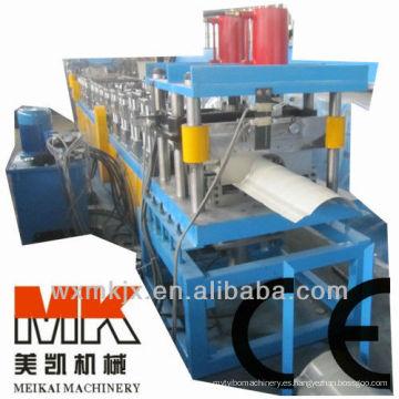 tapa de cumbrera del techo utilizada para la fabricación de teja metálica que hace la máquina