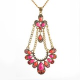 Women Custome Necklace Jewelry (FQ-1252)