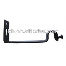 CB029 belo único ferro cortina haste suportes / suportes / muleta / stand para cortina haste 25 milímetros e janelas e decoração home