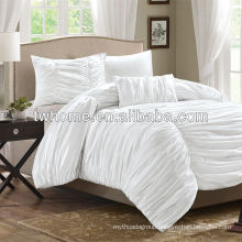 Madison Park Delancey Multi Piece Comforter Duvet Cover Bedding Set White