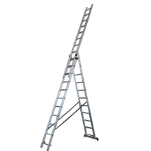 3*9 steps 6m aluminium extension ladder with belts