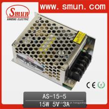 Volume pequeno 5V3a / 12V1.3A / 24V0.7A da fonte de alimentação 15W do interruptor