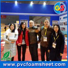 Folha de espuma de PVC (tamanho quente: 1.22m * 2.44m)
