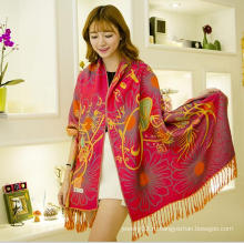 Новые приходящие изготовленные на заказ шарфы способа оптовой продажи арабские