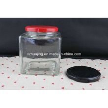 700ml 23oz Square Jam Mason Storage Glass Jar