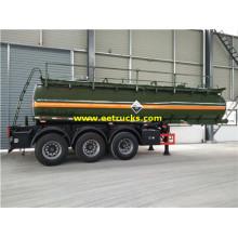 Tri-axle 18000L Sulfuric Acid Tank Trailers