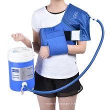 Manchette de cryothérapie de physiothérapie Cryo Compression Therapy avec refroidisseur